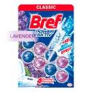 Bref Power Aktiv Fragrance Boost Lavender tuhý WC blok 2 x 50g
