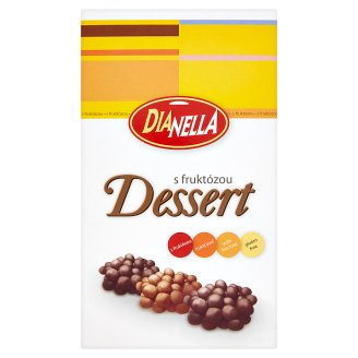 DiaNella Dessert s fruktózou 90g