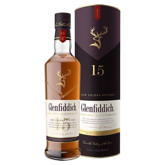 Glenfiddich 15 Years Old Whisky 700ml