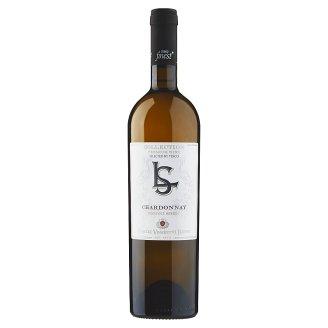 Tesco Finest Chardonnay pozdní sběr víno polosuché bílé 0,75l