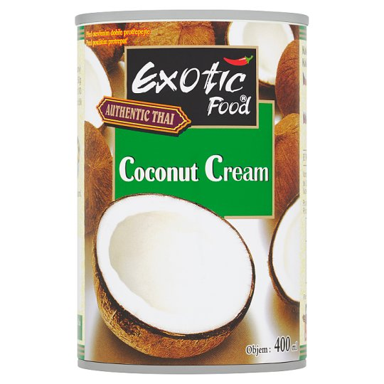 Exotic Food Authentic Thai Coconut Cream 400ml