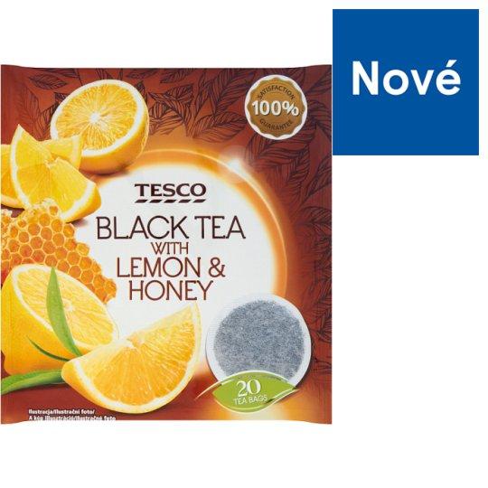 Tesco Black Tea with Lemon & Honey 20 x 2g