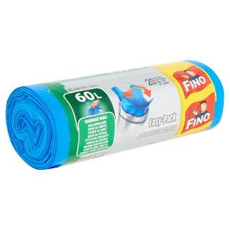 Fino Easy-Pack Garbage Bags Strong 60L 20 pcs