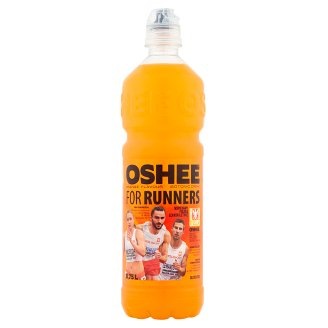 Oshee For Runners Orange Flavour Isotonic Non-Carbonated Drink 0.75l