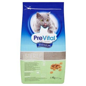 PreVital Premium Sterile pro kastrované a sterilizované kočky 1,4kg