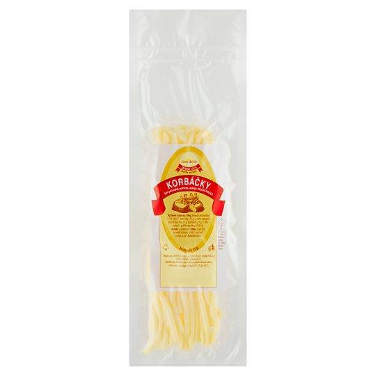 Dobrý Den Korbáčky sýr přírodní pařený uzený 55g