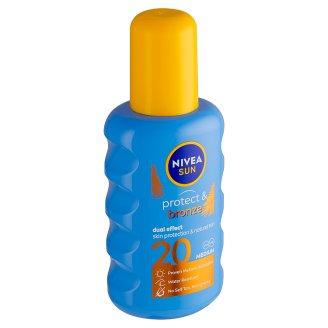 Nivea Sun Protect & Bronze Sprej na opalování podporující zhnědnutí OF 20 200ml