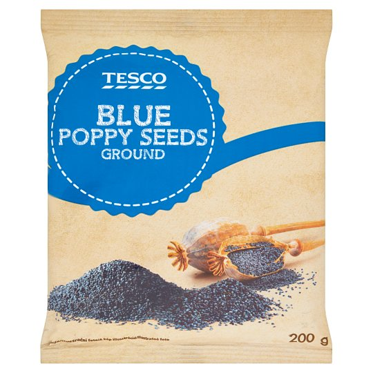 Tesco Blue Poppy Seeds Ground 200g
