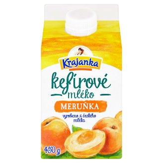 Krajanka Kefírové mléko meruňka 450g