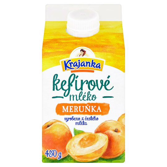 Krajanka Kefir's Milk Apricot 450 g