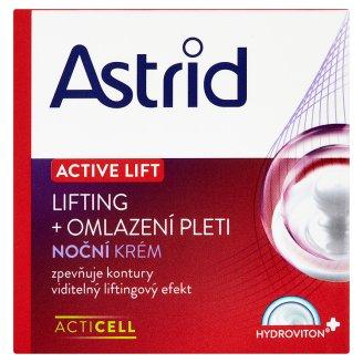 Astrid Active Lift Noční krém lifting + omlazení pleti 50ml