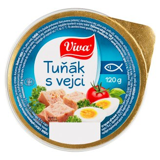 Viva Tuňák s vejci 120g