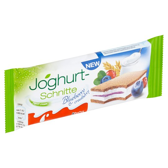 Kinder Joghurt-Schnitte Blueberry & Cranberry 28g