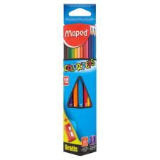 Maped Color' Peps Pastelky trojboké 12 ks + ořezávátko