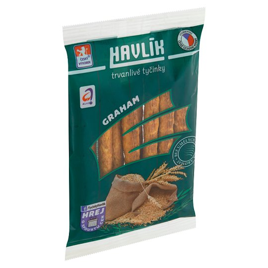 Havlík Graham Long Shelf Life Salt Sticks with Cheese 90g