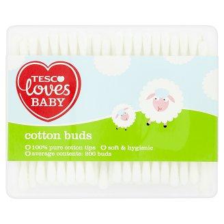 Tesco Loves Baby Hygienické vatové tyčinky 200 ks