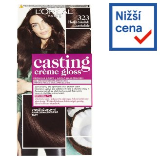 image 1 of L'Oréal Paris Casting Crème Gloss Dark Chocolate 323
