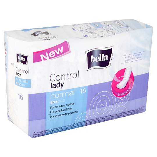 Bella Control Lady Normal Urological Pads 16 pcs