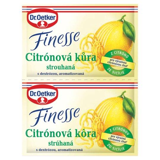 Dr. Oetker Finesse Grated Lemon Peel 2 x 6g