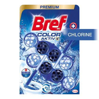 Bref Color Aktiv Chlorine Solid Toilet Block 2 x 50g