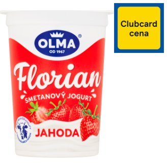 Olma Florian Creamy Yogurt Temptation Strawberry 150g