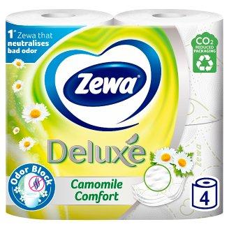 Zewa Deluxe Camomile Comfort toaletní papír 4 role