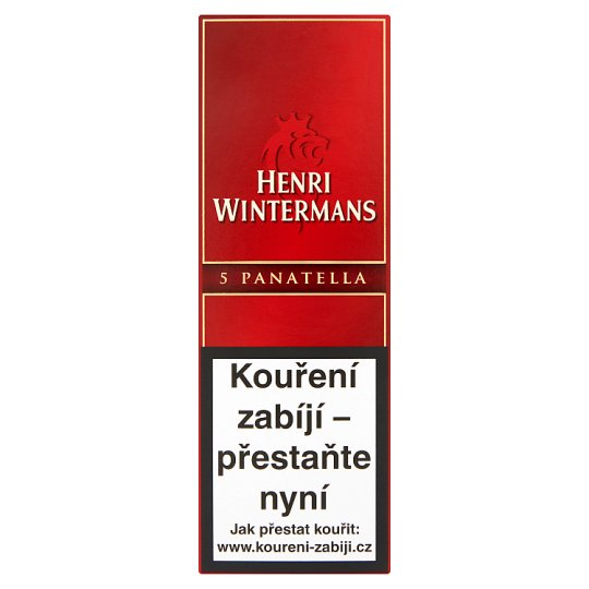 Henri Wintermans Panatella Cigarillos 5 pcs
