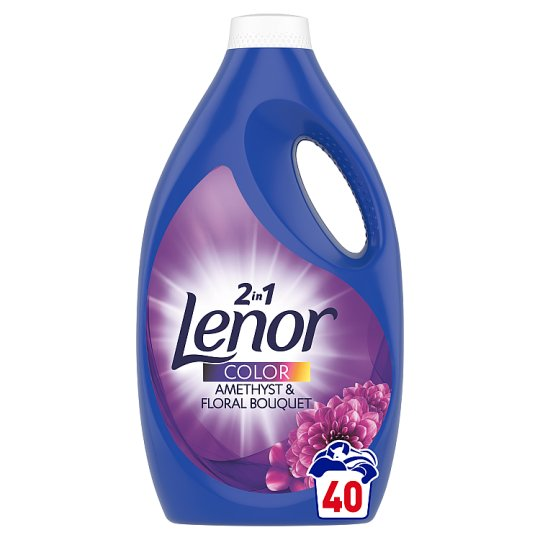 Lenor Washing Liquid Amethyst & Floral Bouquet 40 Washes