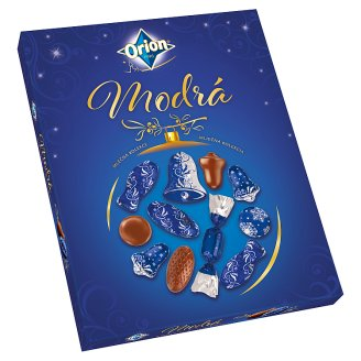 image 1 of ORION Christmas Blue Collection of Milk Chocolate 500g