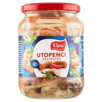 Viva Carne Pickled Sausages Delikates 670g
