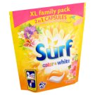 Surf Color+White Hawaiian Dream Washing Duo-Capsules for Color and White Laundry 42 Washes