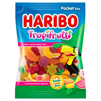 Haribo Tropifrutti Jelly with Fruit Flavors 100g