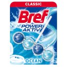 Bref Power Aktiv Ocean Breeze tuhý WC blok 50g