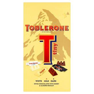 Toblerone Tiny Swiss Chocolates with Honey & Almond Nougat 200g