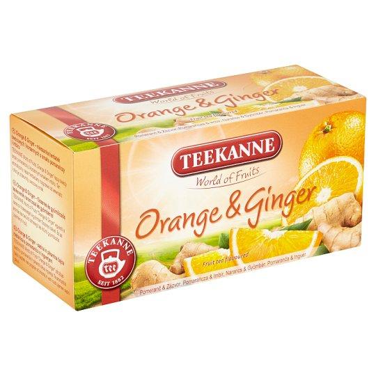 TEEKANNE Orange & Ginger, World of Fruits, 20 sáčků, 45g