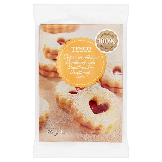 Tesco Vanilla Sugar 10g