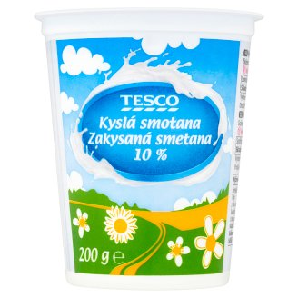 Tesco Sour Cream 10 % 200g