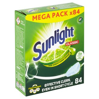 Sunlight Classic Tablety do myčky na nádobí 84 ks 798g