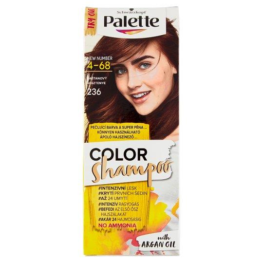 image 1 of Schwarzkopf Palette Color Shampoo Hair Colorant Chestnut 236