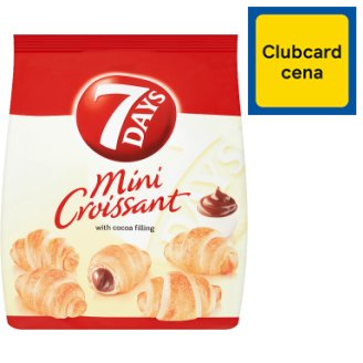 7 Days Mini Croissant with Cocoa Filling 200g