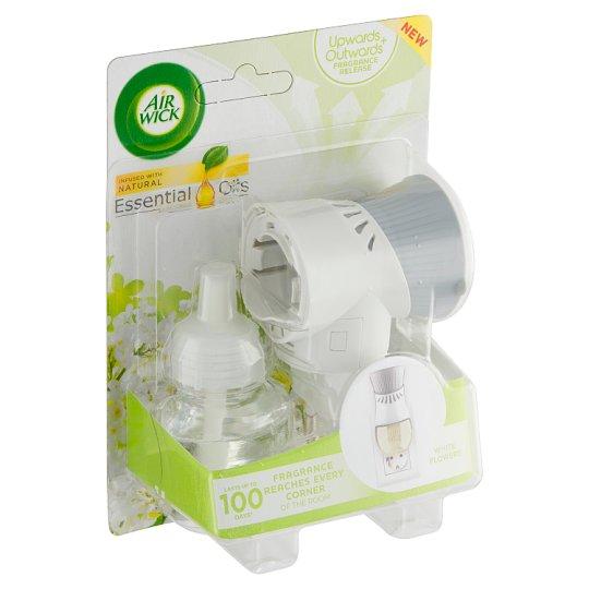 Air Wick Elektrický osvěžovač vzduchu strojek a náplň bílé květy frézie 19ml