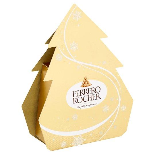 Ferrero Rocher Oplatky s polevou z mléčné čokolády a drcenými lískovými oříšky 50g