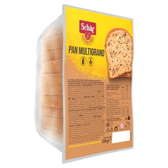 Schär Pan Multigrano Fine Grained Sliced Bread without Gluten 250g