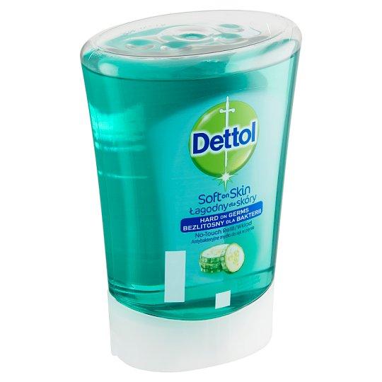Dettol Soft on Skin Tekuté mýdlo náplň do bezdotykového dávkovače okurka 250ml