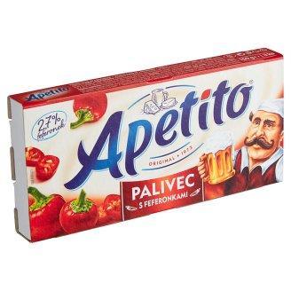 Apetito Palivec pikantní tavený sýr s feferonkami 3 ks 150g