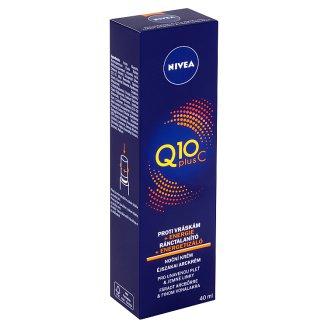 Nivea Q10 Plus C Energizující noční krém proti vráskám 40ml