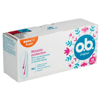 O.B. Original Super Tampons 16 pcs