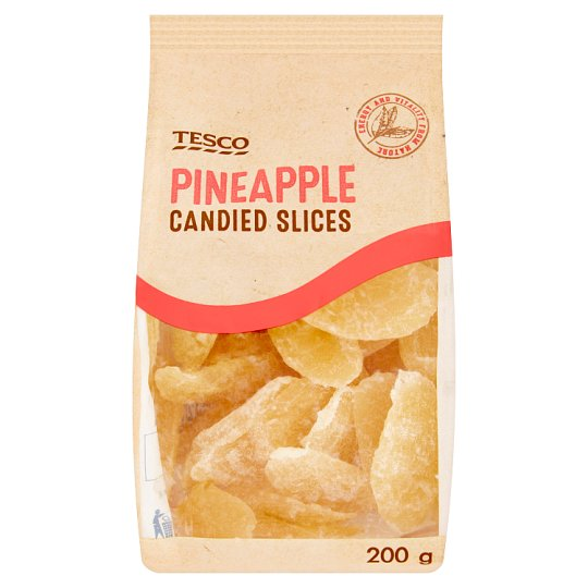 Tesco Pineapple Candied Slices 200g