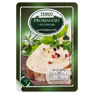 Tesco Fromaggio s bylinkami 150g