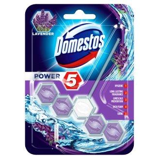 Domestos Power 5 Lavender WC blok 55g